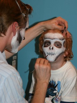 Face Painting for Halloween -- Cute and Scary Ideas