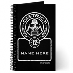 Personallized Hunger Games Journal District 12