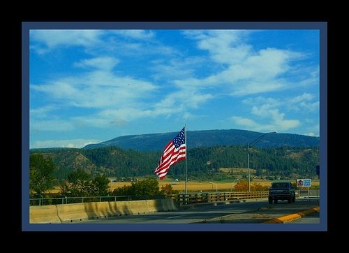 Entering Bonners Ferry