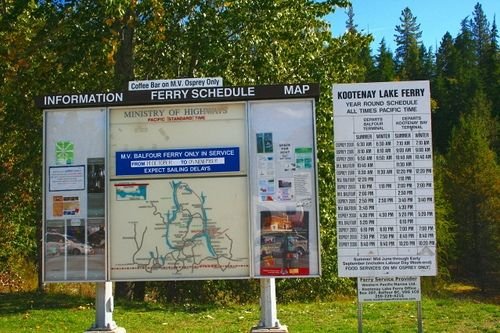 The Ferry Schedule