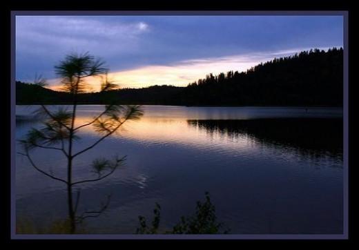 Lake Pend Orielle has breathtaking reflections