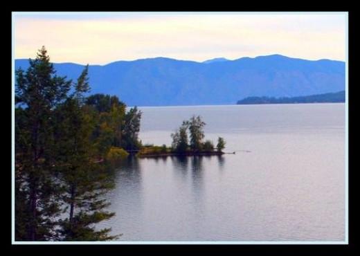 A view of Lake Pend Orielle