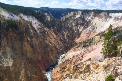 Artist Point at Yellowstone
