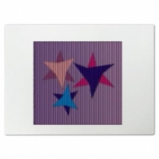 Three Star Cutting Board