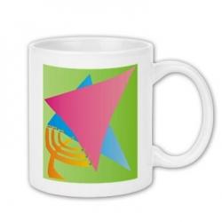Star Menora Coffee Mug