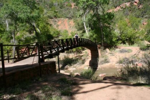 The Bridge over the Virgin River