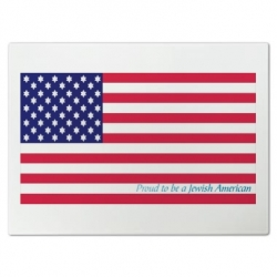 Proud Jewish American Cutting Board