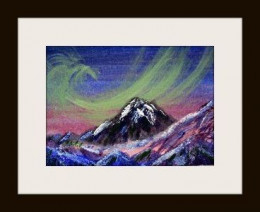 northern lights by Linda Hoxie