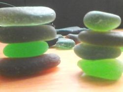 sea glass waiting to become a piece of jewelry