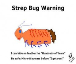 Warning! Strep bug can hide for
