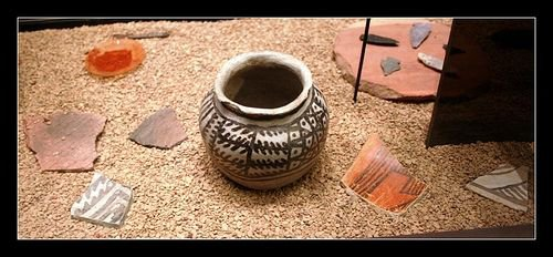 Pottery at the Grand Canyon