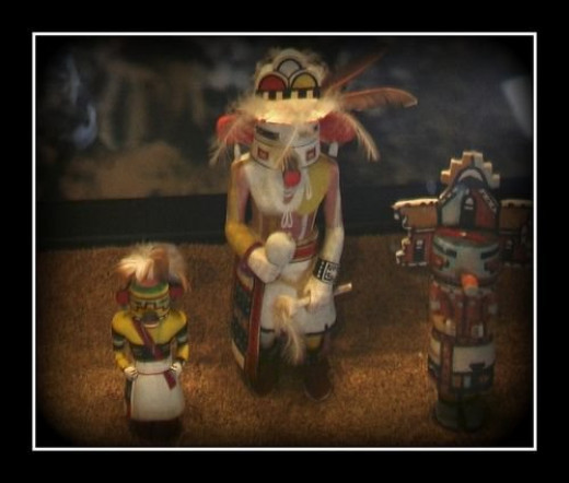 Hopi Indian dolls