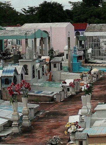 mayan cemetery