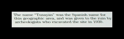 The name Tusayan