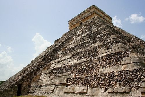 The back of the pyramid