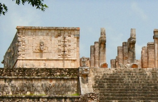 The Temple of the Warriors at Chichen Itza