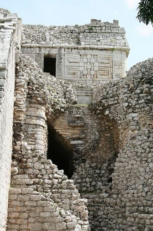 Akab-Dzib, which is believed to be the oldest building in Chichen Itza