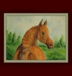 The Horse artwork of Artist Linda Hoxie