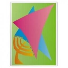 Jewish Star/Menora Cutting Board