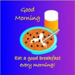 Get Healthy -- Eat Breakfast!