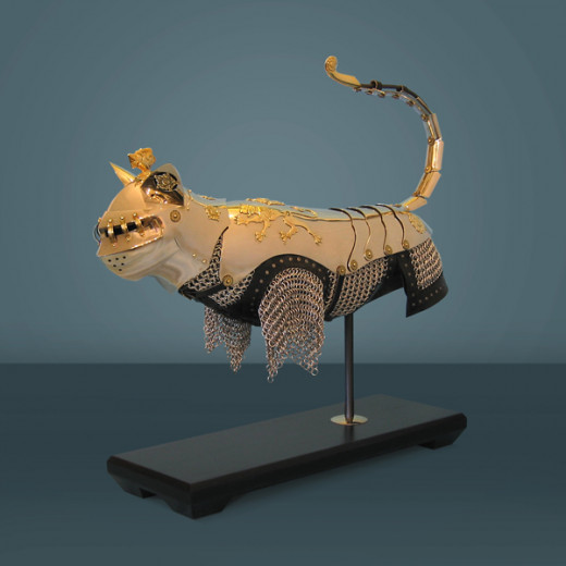 Richard the Lionhearted cat's armor from DeBoer