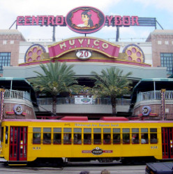 The Historic Ybor City in Tampa, Florida