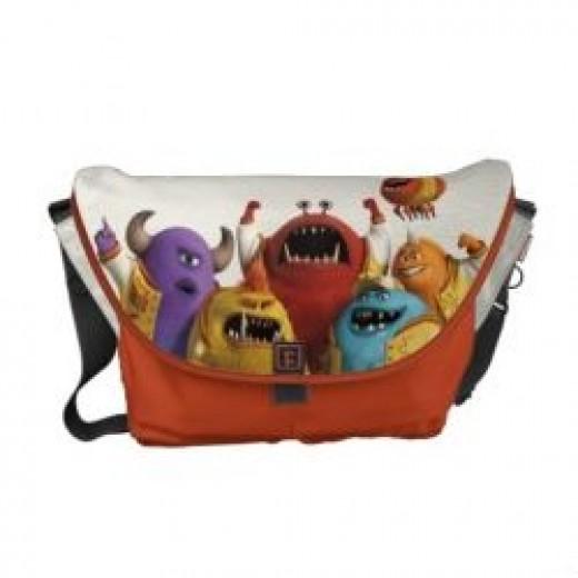 Monsters University Bag