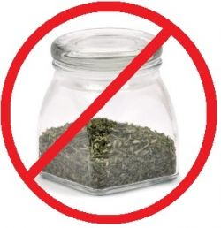 Don't store herbs in clear jars