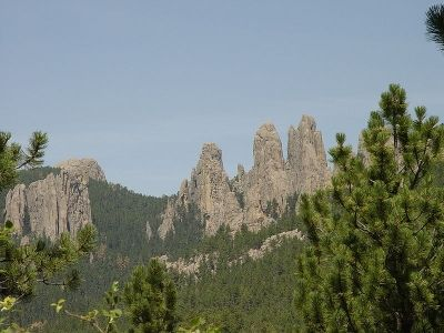 The original site for Mount Rushmore - The Needles