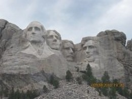 Mount Rushmore from the Grandview Terrace