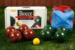 Busting balls  - Bocce ball