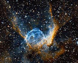 Thor's Helmet Nebula