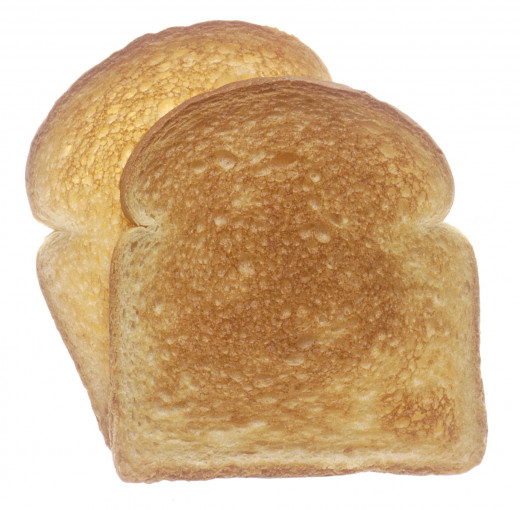 When in doubt, eat toast! (Photo courtesy of National Cancer Institute via Wikimedia Commons)