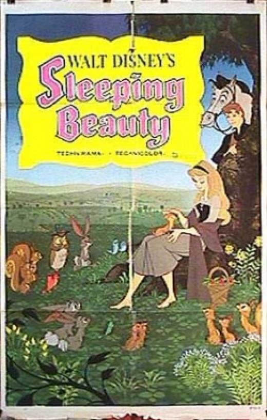 Sleeping Beauty original movie poster Disney
