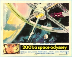 2001: A Space Odyssey original movie poster Kubrick