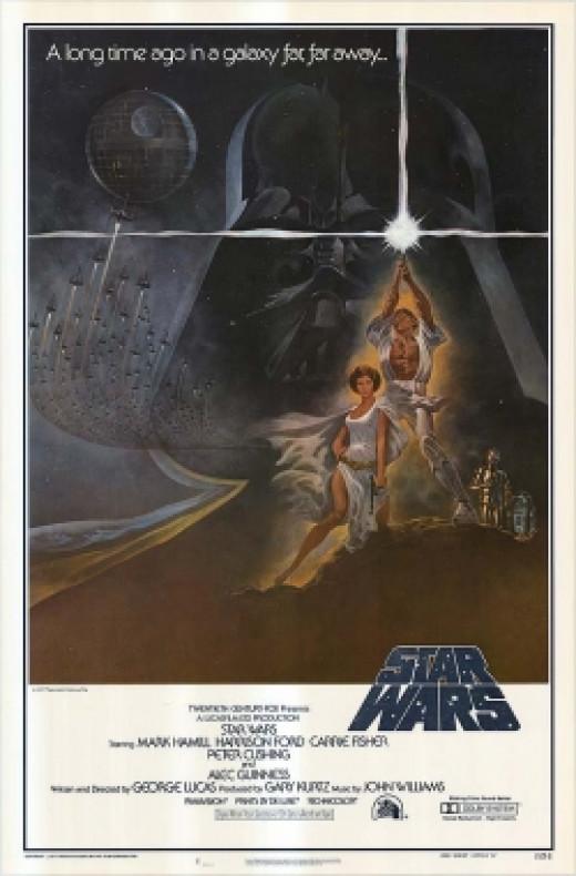 Star Wars original movie poster george lucas