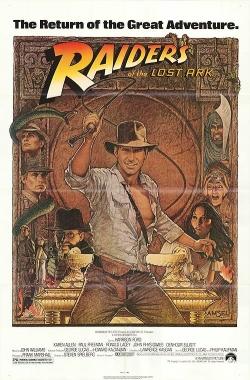 raiders of the lost ark original movie poster