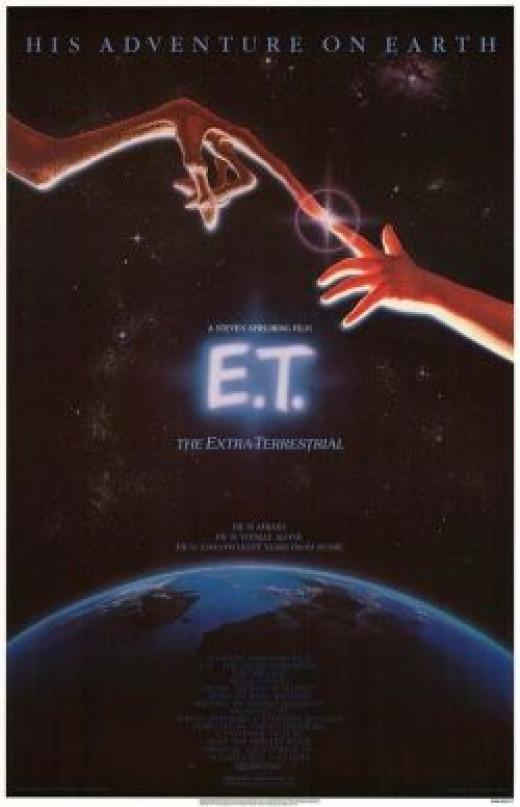 E.T. Movie poster original Spielberg