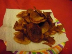 'tater Chips Homemade
