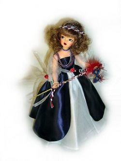"Dolls by Altona - Ideal Tammy as Mardi Gras ""Little Miss Demeanor"""