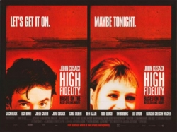 high fidelity movie poster john cusack
