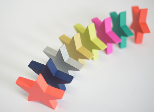 Simple domino track