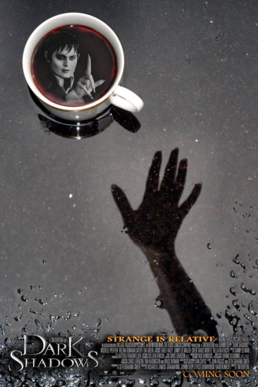 Coffee With Dark Shadows by Tonie Cook for DeviantArt Contest