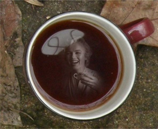 Coffee With Marilyn by Tonie Cook