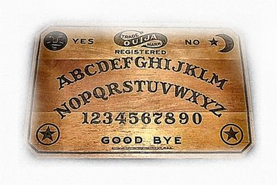 An Old Witch Board