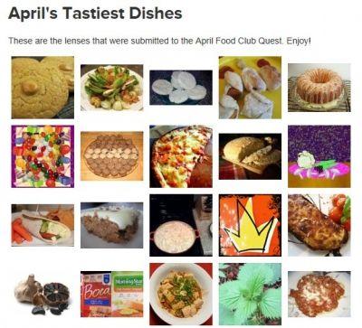 Tastiest April 2013 Lens Nominee