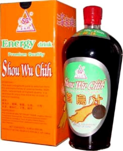 Shou Wu Chih - A herbal tonic beverage from China.