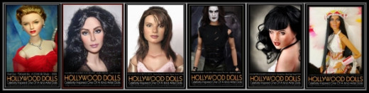 Hollywood Doll Icons
