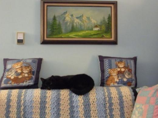 Cat Painting ©KimMarie Ostrowski