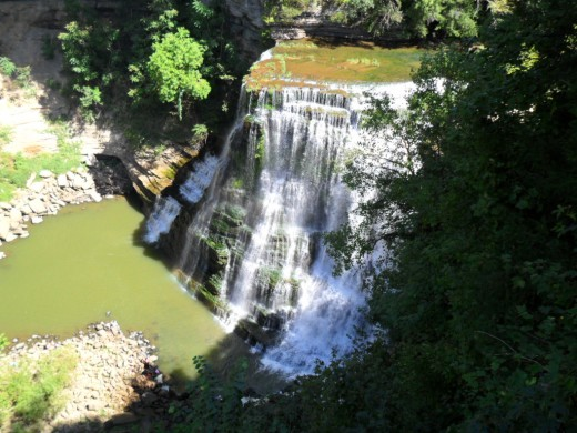 Burgess Falls from the Overlook